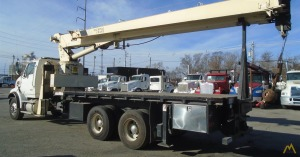 National Series 800D Model 8100D Boom Truck Crane on Peterbilt 365