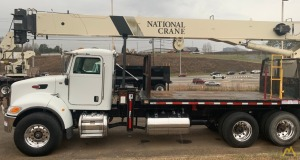National Series 900A Model 9103A 26-ton Boom Truck Crane on Peterbilt 340