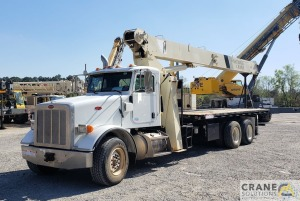 National Series 900A Model 9103A 26-ton Boom Truck Crane on Peterbilt 365