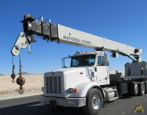 National Series 900A Model 9125A 26-Ton Boom Truck Crane on Peterbilt 367