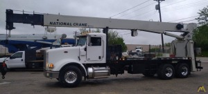 National Series 900A Model 9125A 26-ton Boom Truck on Peterbilt