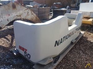 National NBT50 Counterweight Parts Dismantled