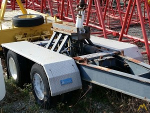 Nelson 2-axle Boom Dolly