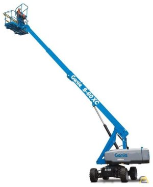 NEW Genie S-60 XC Telescopic Boom Lift (4WD)