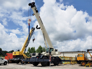 New TEREX RT-100US 100-ton Rough Terrain Crane