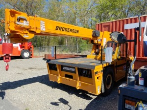 New 2020 Broderson IC 80-3L 9-Ton Carry Deck Crane