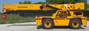 New 2021 Broderson IC-280 20-Ton Carry Deck Crane