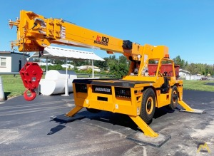 New Broderson IC-100 10-Ton Carry Deck Crane