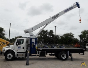 New Manitex 1901C 19-Ton Boom Truck Crane on a New Freightliner M2106