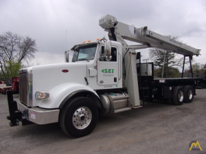 New National 8100D 23-Ton Boom Truck Crane