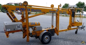 Omme 1050 EZ Trailer Mounted Telescopic Boom Lift