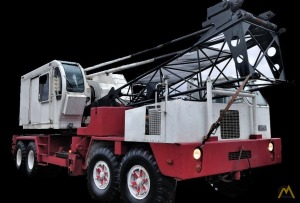 P&H 650A-TC 50-Ton Lattice Boom Truck Crane