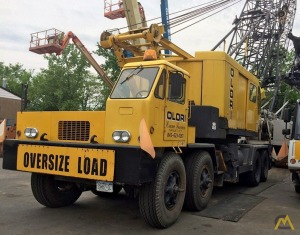 P&H 790-TC 90-ton Lattice Boom Truck Crane