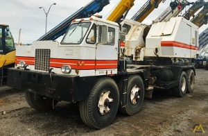 P&H 9125-TC 140-Ton Conventional Truck Crane
