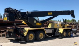 P&H T-400XL Telescopic Boom Truck Crane