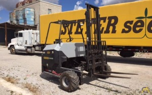 Palfinger CR 45 Piggyback Forklift with or without Great Dane Trailer