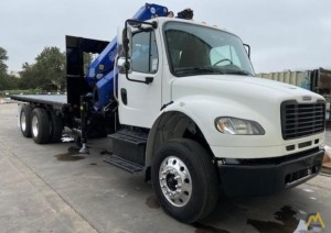 PM 23525 SP 23-ton Articulating Knuckle Boom Crane on Freightliner M2 106