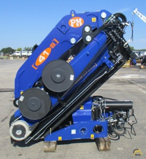 PM 41024 S 41-ton Articulating Knuckle Boom Crane UNMOUNTED
