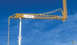 Potain Hup 40-30 4.4-Ton Tower Crane