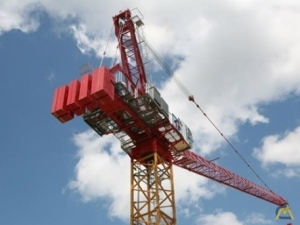 Potain MR 150 35-ton Luffing Jib Tower Crane