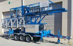 Refurbished Hydra Platform HP32 Bridge Inspection Lift