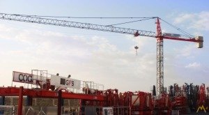 Saez S52 4-Ton Tower Crane