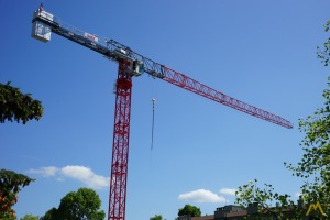 Saez TLS 65 11-ton Flat Top Tower Crane