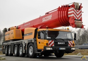 Sany SAC 2200 220-Ton All Terrain Crane