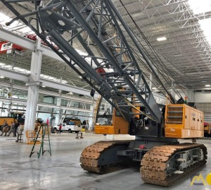 Sany SCC8100 110-Ton Lattice Boom Crawler Crane