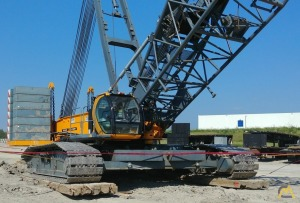 Sany SCC8300 330-ton Lattice Boom Crawler Crane
