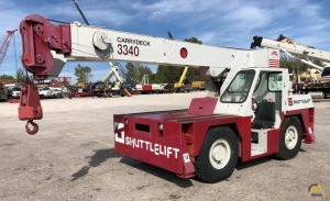 Shuttlelift 3340 9-Ton Carry Deck Crane