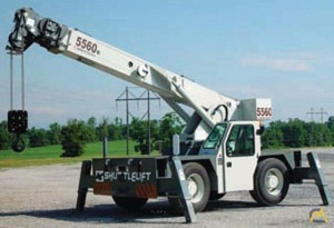 Shuttlelift 5560B 18-Ton Industrial Carry Deck Crane