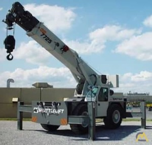 Shuttlelift 7725 25-Ton Industrial Carry Deck Crane