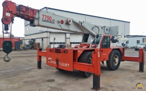 Shuttlelift 7750RT 20-Ton Carry Deck Crane