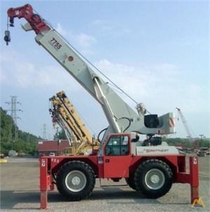 Shuttlelift 7755 22-Ton Industrial Carry Deck Crane