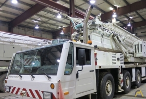 Spierings SK488-AT4 8-Ton Self Erecting Truck Mounted Tower Crane