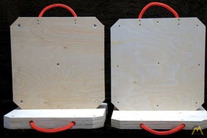 Square Multi-Layered Plywood Mats