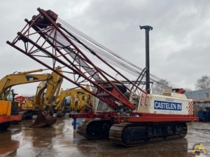 Sumitomo LS-118RH 50-ton Lattice Boom Crawler Crane