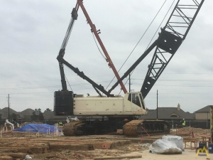 Sumitomo SC 1500 150-ton Lattice Boom Crawler Crane