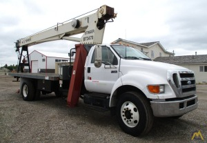 Terex BT 3470 17-ton Boom Truck Crane on Ford F750