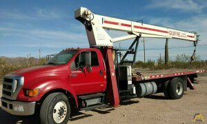 Terex BT 3670 18-ton Boom Truck Crane on Ford F750