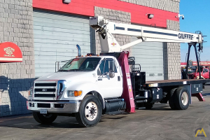 Terex BT 3870 19-ton Boom Truck on Ford F750XL