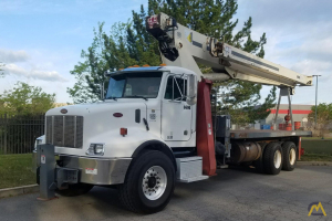 Terex BT 4792 23.50-ton Boom Truck Crane on Peterbilt T330
