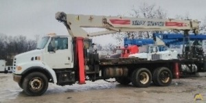 Terex BT 4792 23-ton Boom Truck Crane on Sterling