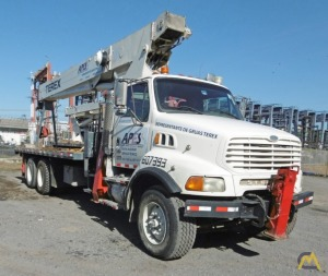 Terex BT 5092 25-ton Boom Truck Crane on Sterling LT8000