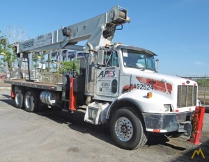 Terex BT 60100 30-ton Boom Truck Crane on Peterbilt 330