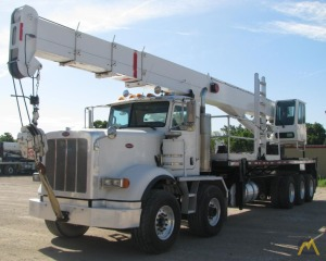 Terex BT 70100 35-ton Boom Truck on Peterbilt