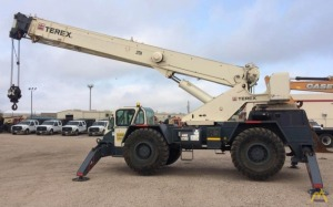 Terex CD225 25-Ton Down Cab Rough Terrain Crane