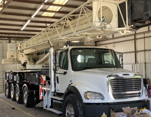 Terex Crossover 6000 60-ton Boom Truck Crane on Freightliner M2 112