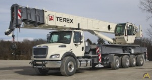 Terex Crossover 6000 60-Ton Boom Truck Crane on Freightliner M2